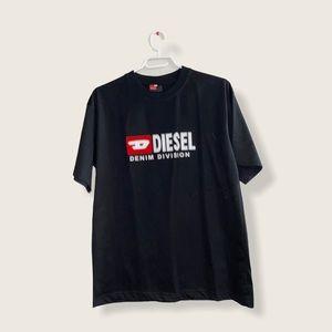 Diesel Denim Black Tee Large Size